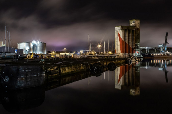 2ème : Ambiance portuaire - Marc TASSEL - UIA St Nazaire