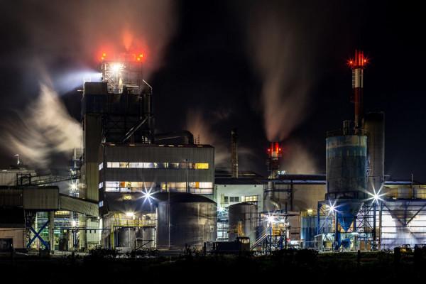 3ème : Paysage industriel - André BLEAS - UIA St Nazaire