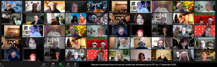 Réunion Virtuelle CA FPF du 17 Décembre 2020