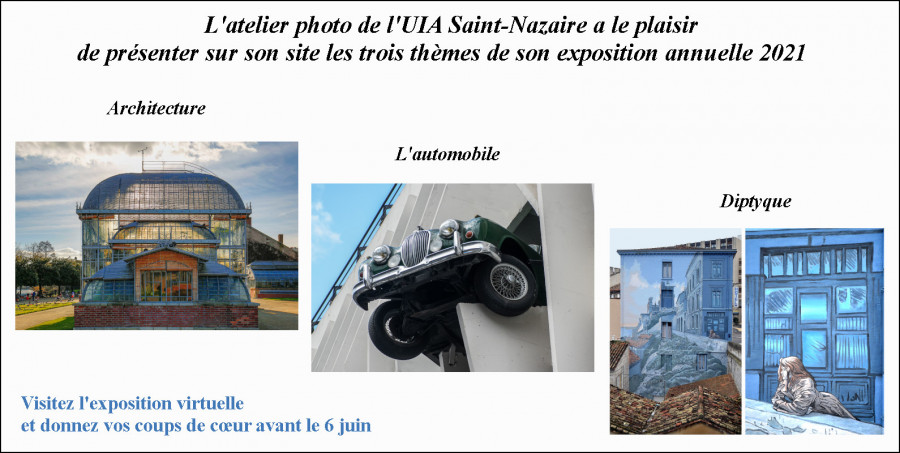 Exposition Atelier Photo UIA St NAZAIRE